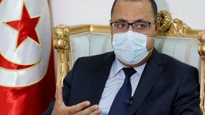 رئيس الحكومة التونسي لا يستبعد حلول جذرية لمواجهة التفشي السريع لكورونا