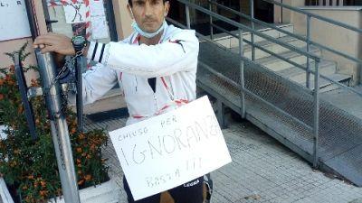 Nel Lancianese, mia protesta non violenta contro il Governo