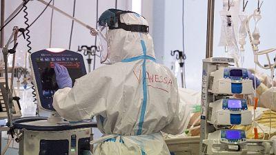 Calo pazienti (34) terapia intensiva,salgono a 152 altri reparti