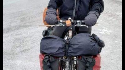 Lorenzo Barone prepara avventura solitaria in inverno russo