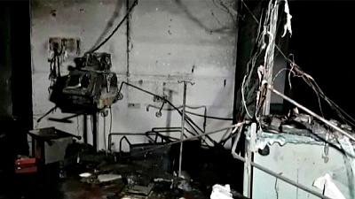 Fire in hospital's intensive care kills 18 in India's Gujarat