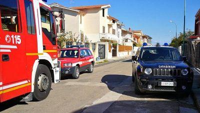 Incidente nel Cagliaritano durante accensione fornelli a legna