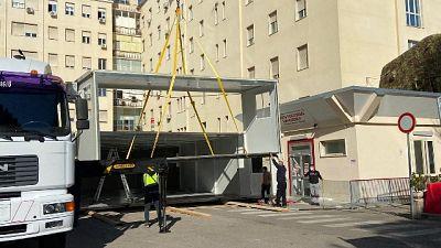 Potrà ospitare 14 pazienti in attesa di ricovero in reparto