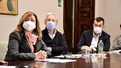"""Presidente Umbria parla di """"piano modulare"""" e 500 posti letto"""