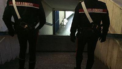 Carabinieri lo cercavano,doveva scontare pena a 3 anni e 10 mesi