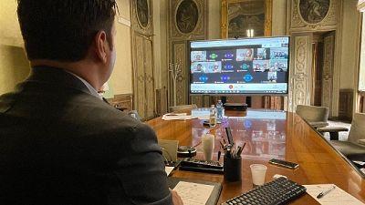 Contatti col commissario straordinario Domenico Arcuri