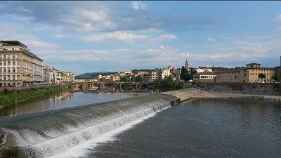 Firenze e le altre città deserte,pochi a passeggio o a far sport