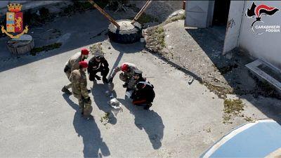Colpiti i vertici dei clan mafiosi foggiani,presi anche due boss