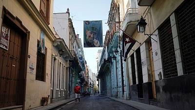 Pandemic and economic crisis dampen May Day in Cuba