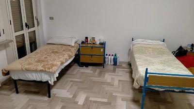 Nell'ex caserma Carabinieri dormitorio per 9 senza fissa dimora