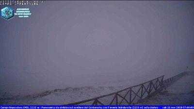 Stazione meteo, a Campo Imperatore temperatura percepita -22.8