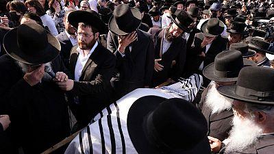 Decenas mueren en estampida durante festival religioso en Israel