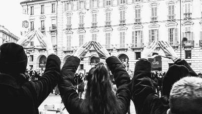 Manifestazione collettivo 'Non una di meno'