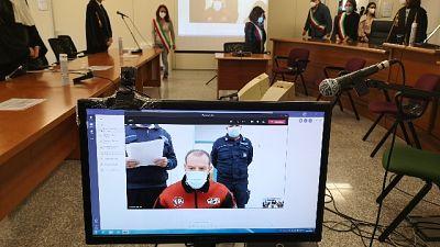 Sentenza in Corte d'assise di appello a Sassari