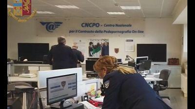 Indagini della Polizia postale di Palermo e Catania e del Cncpo