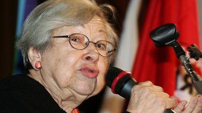 L'ex partigiana ed ex senatrice ha 95 anni