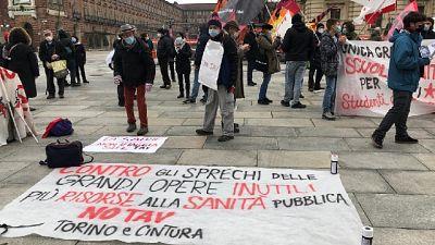 Manifestazione per ricordare la 'battaglia' di Venaus