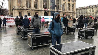 .Protesta in piazza a Torino, servono diritti e tutele