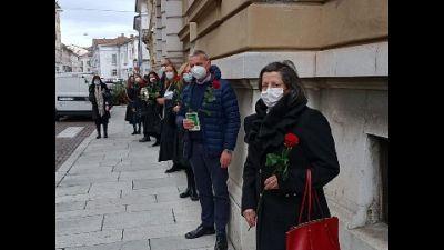 """Protesta contro Ministro Bonafede: """"Lavoratori senza tutele"""""""