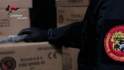 Materiale era in un magazzino, denunciata una donna