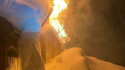 Aperto impianto di risalita per i vigili del fuoco