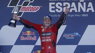 ميلر يفوز بجائزة إسبانيا الكبرى مع هيمنة دوكاتي (نارية)