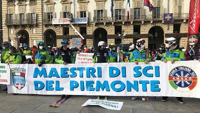 Protesta a Torino, abbiamo bisogno di aiuti concreti