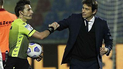 إنتر ميلان بطلا للدوري الإيطالي لأول مرة في 11 عاما