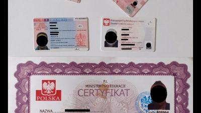 Polizia Trieste e Sco.Redatti in Ucraina e distribuiti in Italia