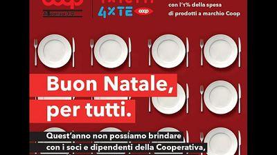 Con Coop Alleanza 3.0 raccolti 55mila euro di beni alimentari
