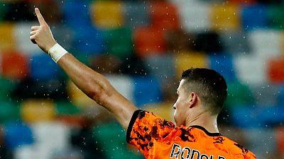 رونالدو ينقذ ماء وجه يوفنتوس بثنائية متأخرة في الفوز على أودينيزي