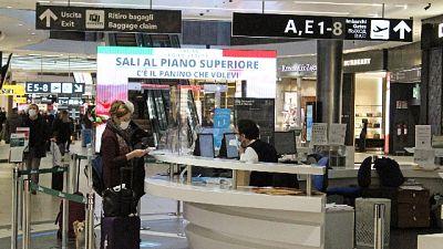 A Fiumicino con volo Alitalia da Londra.Ora tampone e quarantena