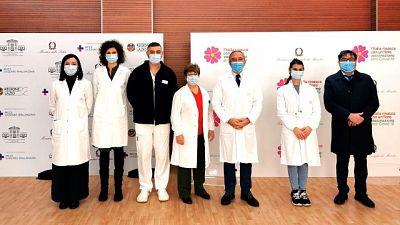 Capobianchi fra i 5 che riceveranno vaccino domani a Spallanzani