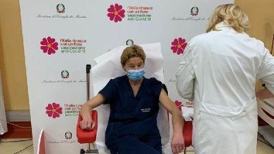 La dottoressa Lidia Dalfino, 'spero di essere di esempio'