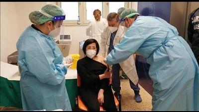 E' un'infermiera dell'ospedale dell'Annunziata