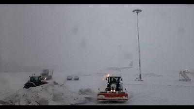 Nevicate dalla scorsa notte,10 cm nel capoluogo