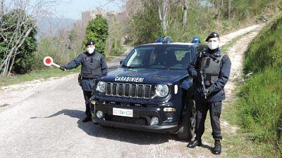 Erano in una struttura ricettiva in Umbria, intervengono cc