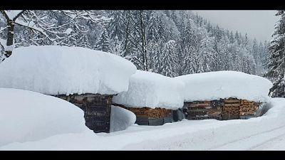 Colpito il Nord-Ovest, piogge e nevicate attese anche in collina