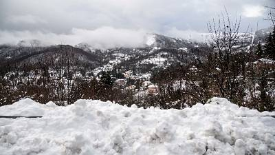 Più colpito centro Italia, nevicate pure su Lombardia e Piemonte