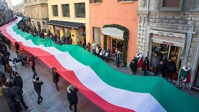 Il programma ufficiale della cerimonia a Reggio Emilia