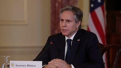 """Blinken dice que China actúa de forma """"más agresiva en el extranjero"""""""