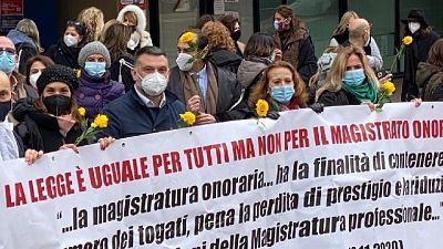 Sciopero dal 19 al 22 e il 29 manifestazione davanti Cassazione