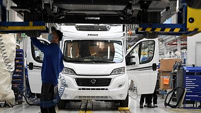 Euro zone factories racing in April, prices jumped - PMI