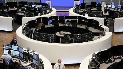 Las bolsas europeas suben tras resultados optimistas y con las esperanzas de recuperación