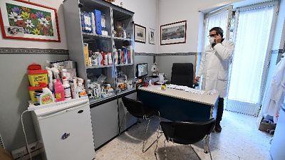 Decessi sono 22. Il 74% medici in regione è stato vaccinato