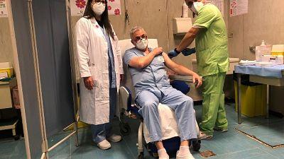 Prime somministrazioni seconda dose all'ospedale di Terni