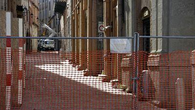 23 gennaio sindaco toglierà transenna che delimitava zona rossa