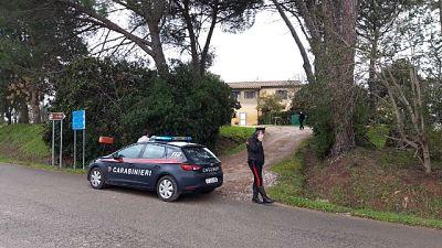 Nel comune di Capalbio, piccola era in bicicletta