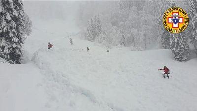 A breve bonifica della neve con le sonde