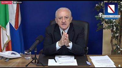 Presidente Campania contesta piano distribuzione